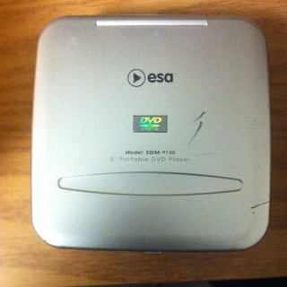 Free: ESA portable DVD player - Other Electronics - Listia ...