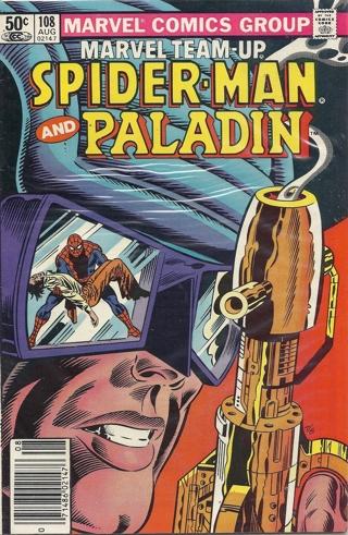 1981 Marvel Comic Book: Marvel Team-Up #108