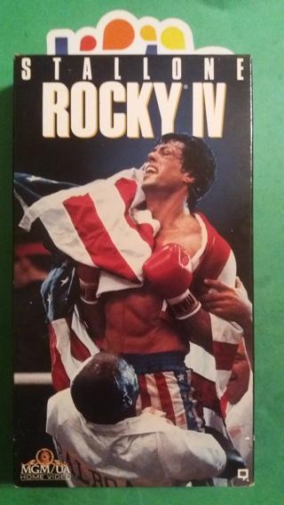 VHS movie  rocky IV   free shipping