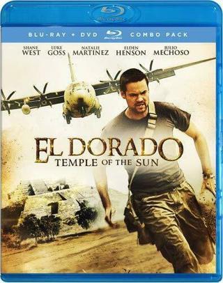 2019 El Dorado:Temple of the Sun Blu-ray Dvd Combo Movie 2 Disc-New & Sealed!