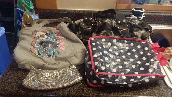 4 Handbags!!!
