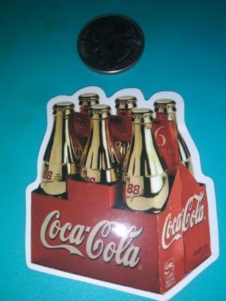 Coca cola 88 really nice quality vinyl lab top sticker lowest gins come see! No refunds!