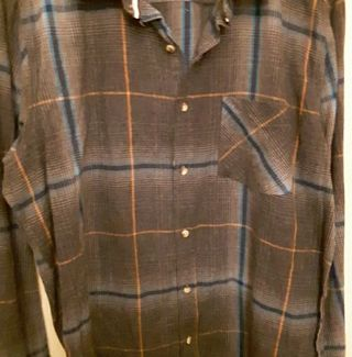 Rustic Blue, Authentic Denim Company, Men's Shirt. BRAND NEW WITH TAGS!
