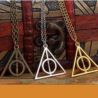 Charms Pendant Necklaces Triangle Long Chain Necklace For Men And Women Jewelry
