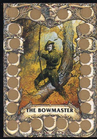 1993 Steve Jackson BATTLE CARD unscratched: The Bowmaster