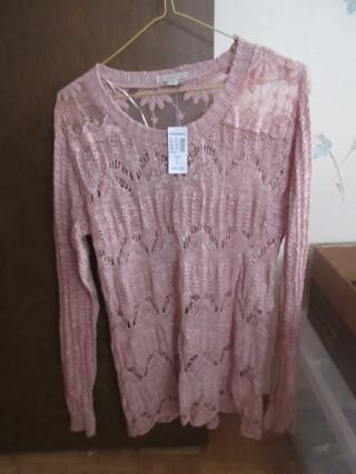 Dressbarn Dusty Rose Sweater Size Large