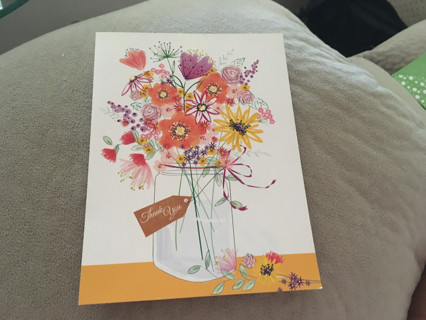 THANK YOU BLANK NOTE/CARD