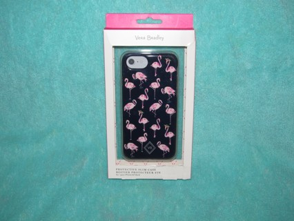 ♥ Vera Bradley Flamingo Fiesta Protective Slim Cell Phone Case For iPhone 7 or 8