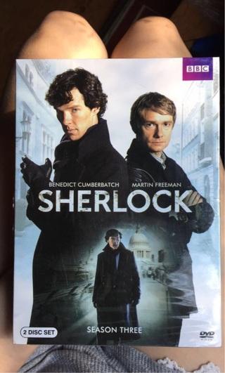 Sherlock season 3 (Unopened)