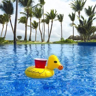 1 - Duckie Inflatable Coaster