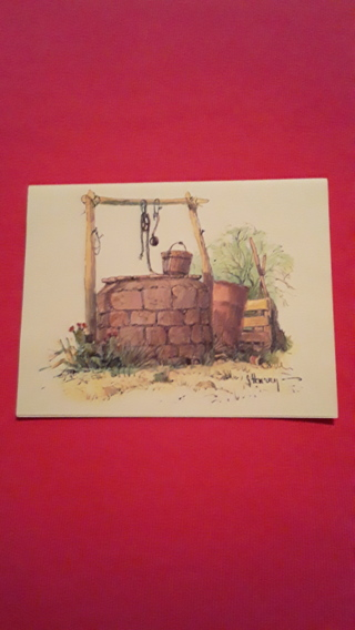 Notecards - Water Well