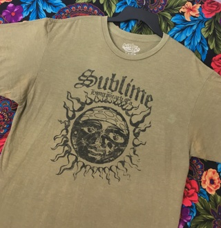 SUBLIME SHIRT BAND TEE REGGAE SKA