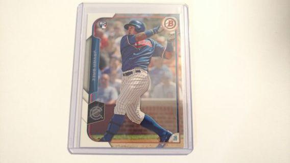 Javy Baez - 2015 Bowman ROOKIE #150 - Chicago Cubs