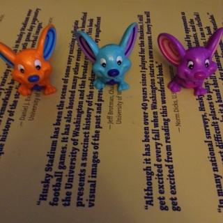 Cute multicolored little mice!!!