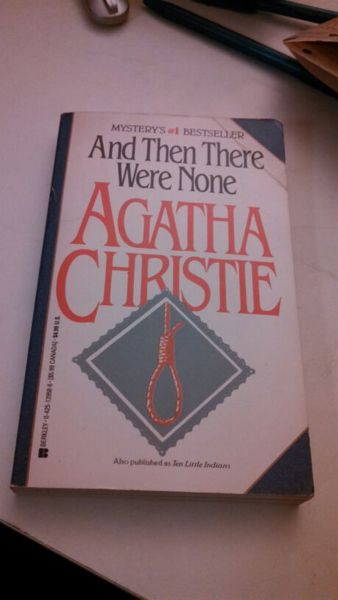 agatha christie essay none there were In agatha's christie's and then there were none, the idea of justice is a major theme and  to compare the book with another i have read i am going to compare it with another book by agatha christie.