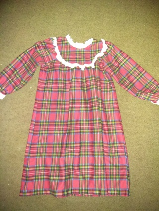 Flannel night gown
