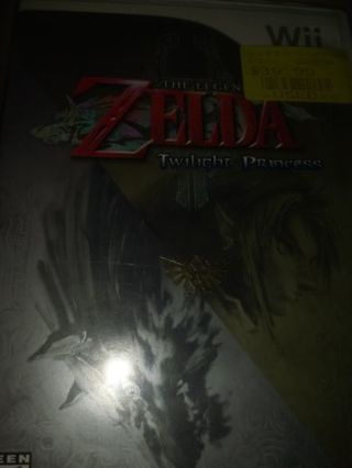 Wii zelda twilight princess