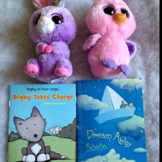 Free TY Beanie Boos and 2 Small Books  Dolls