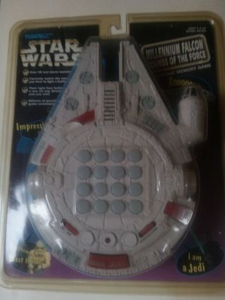 DON'S DAILY DEAL.STAR WARS. LARGE MILLENNIUM FALCON SOUNDS OF THE FORCE. NEVER OPENED