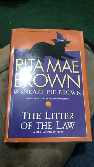 The Litter of the Law by Browns (hardcover)