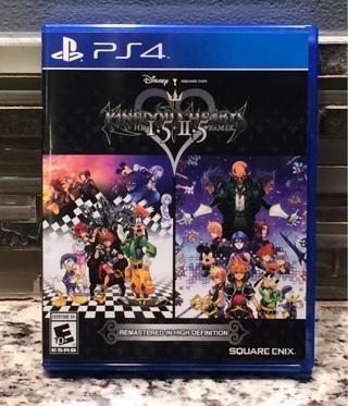 Kingdom Hearts HD 1.5 + 2.5 ReMIX  (PS4 / MINT)
