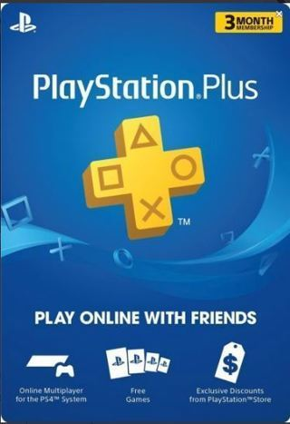 NEW 3 Month PlayStation Plus Membership PS3/ PS4/ PS Vita PSN [Digital Code]