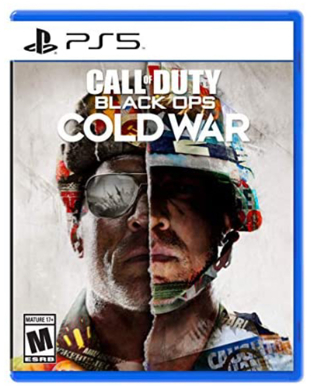 PlayStation 5 disc version with call of duty Cold War