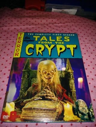 ⚛✨⚛✨⚛TALES FROM THE CRYPT COMPLETE 1ST SEASON DVD SET IN LIKE NEW CONDITION⚛✨⚛✨⚛PLEASE READ!