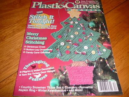 PLASTIC CANVAS CRAFTS MAGAZINE -- DEC. 1998