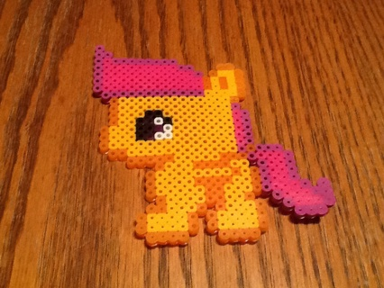 Free My Little Pony Scootaloo Perler Bead Other Art Listiacom