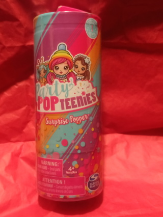 PARTY POP TEENIES SURPRISES POPPER