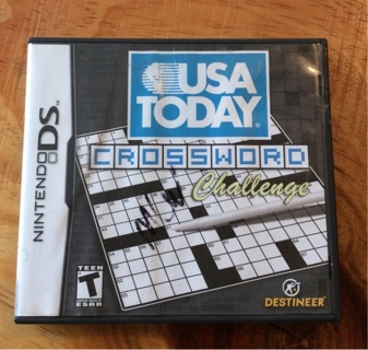 USA Today Crossword Challenge DS Game