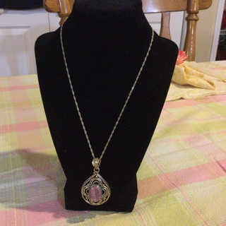 Sterling Silver chain and pendant with