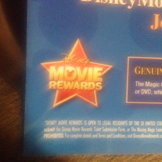 3disney movie reward