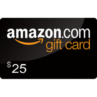 $25 Amazon E Gift Card Fast Delivery