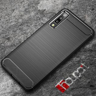 For Samsung Galaxy A7 2018 Case Silicone Rugged Armor Soft TPU Back Cover Case For Samsung A7 2018