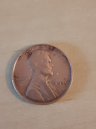 1946 Lincoln Wheat Penny In A Protective Holder