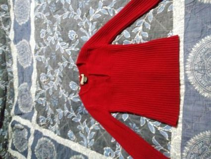 Very nice LS sweater size small