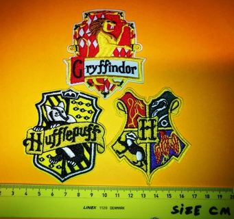 Harry Potter   Embroidered Cloth Iron On 3  Patch