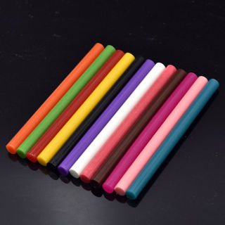 10Pcs Colored Hot Melt Glue Stick Rod For Glue Gun Adhesive DIY Electric Heating Tool