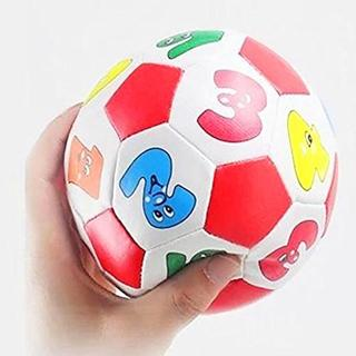 Mini Soft Rubber Ball for Children Kids Educational Toy Digital Soccer Ball