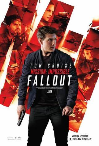 MISSION IMPOSSIBLE FALLOUT 4k UHD iTunes Code