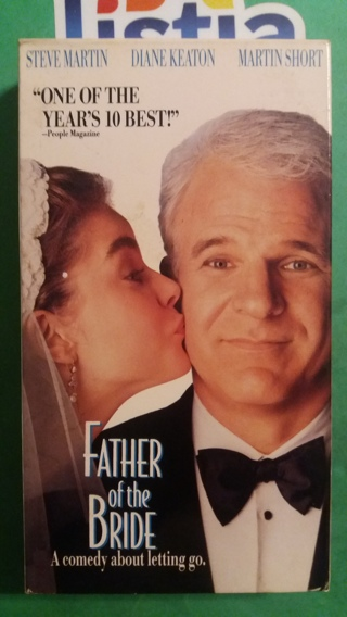 VHS movie  father of the bride  free shipping