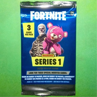 1 New Pack of 2019 Panini Fortnite Series 1 Trading Cards.