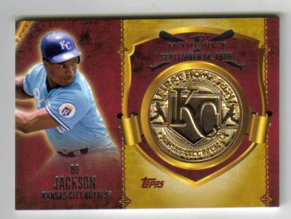 Free Bo Jackson 2014 Topps First Home Run Coin Baseball Card