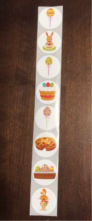 8 Cute Easter Theme Stickers
