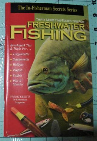10  BOOKS FRESHWATER  FISHING