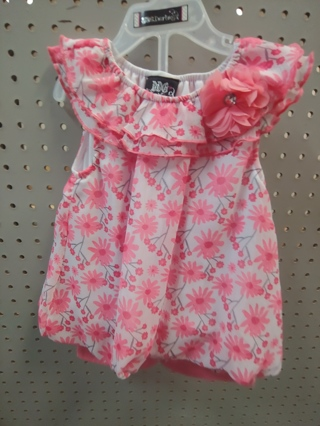 NWT! DDG-DARLINGS - Baby Girls 2 pc Set Size 18mths 100% polyester