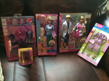 BARBIE TOYS YOU GET IT ALL!!