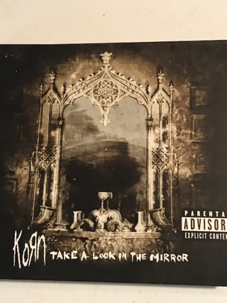 Music CD  KORN, Take A Look In A Mirror